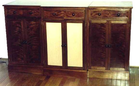 Click for a bigger picture - Chiffonier in Mahogany