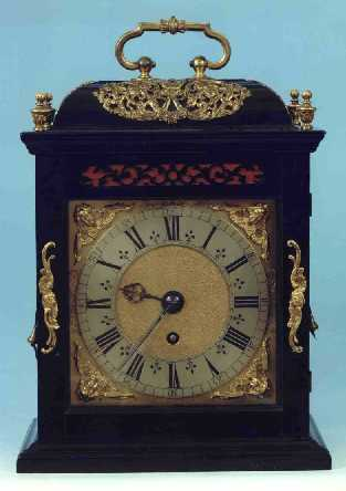 Click for a bigger picture - Bracket Clock by Joseph Knibb